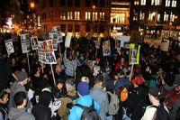 アメリカで人種差別に反対するデモ 2015.01.06